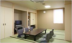 遺族親族控室・和室